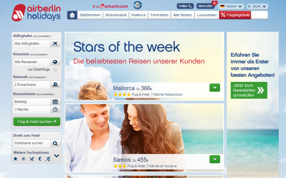 airberlin holidays